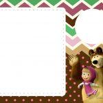 Convites Festa Masha e o Urso 9