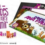 Convite Masha e o Urso 26 Modelos Gratuitos para Imprimir