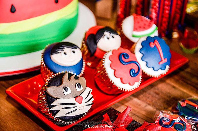 Cupcakes Festa Show da Luna da Samara