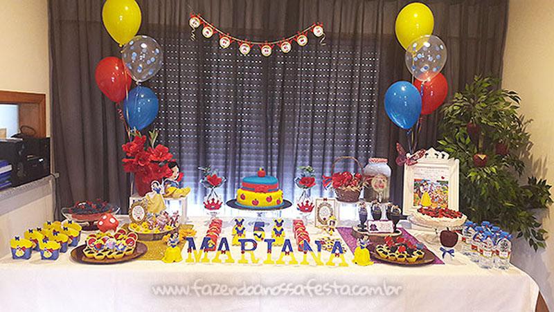 Festa Branca de Neve da Mariana 7