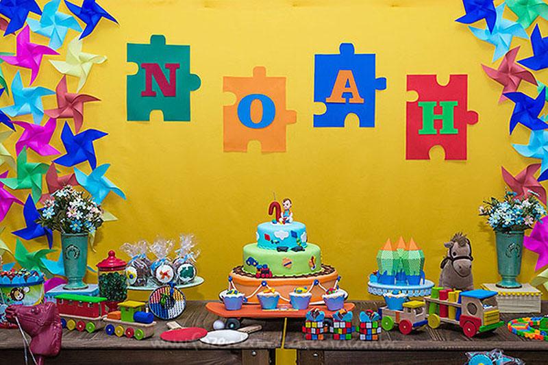 Ideias para Festa Brinquedos Aniversario do Noah 11