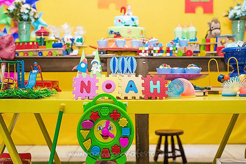Ideias para Festa Brinquedos Aniversario do Noah 14