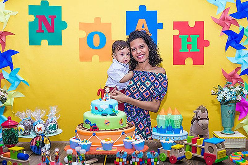 Ideias Festa Brinquedos Aniversario Noah 66