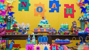 Ideias para Festa Brinquedos Aniversario do Noah