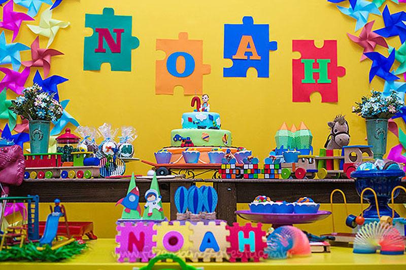 Ideias para Festa Brinquedos Aniversario do Noah 7