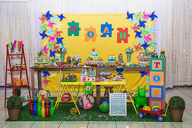 Ideias para Festa Brinquedos Aniversario do Noah 9