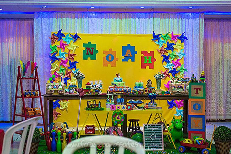 Festa Brinquedos Aniversario do Noah 22