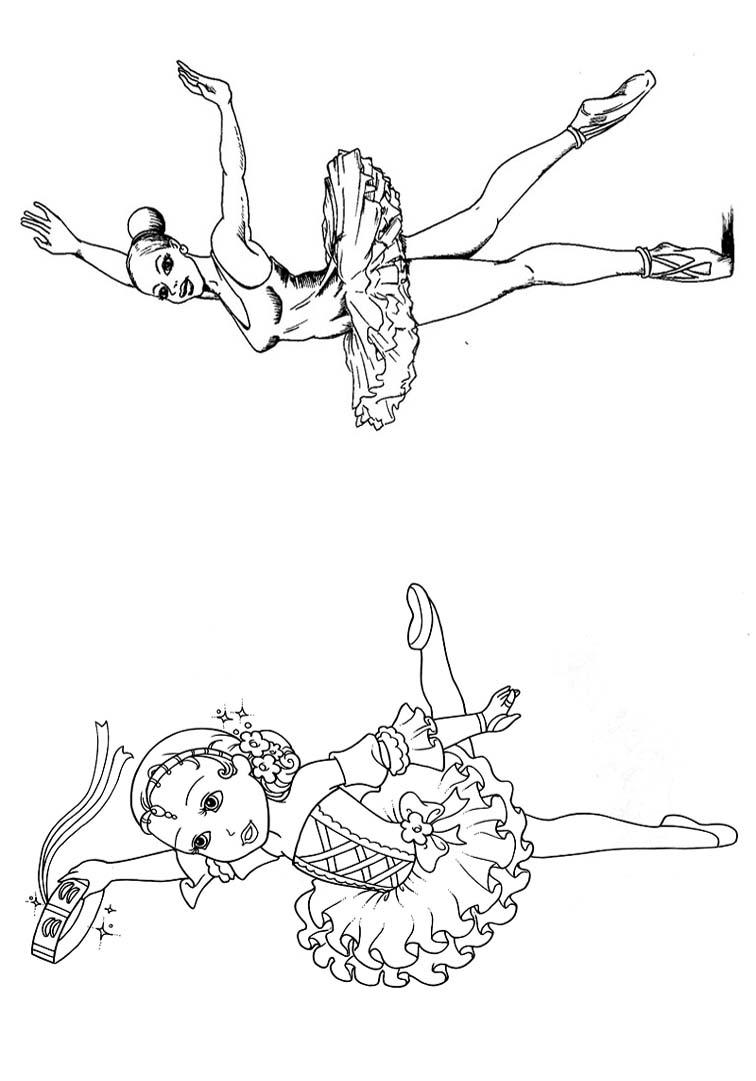 Livrinho de Colorir Bailarina 9
