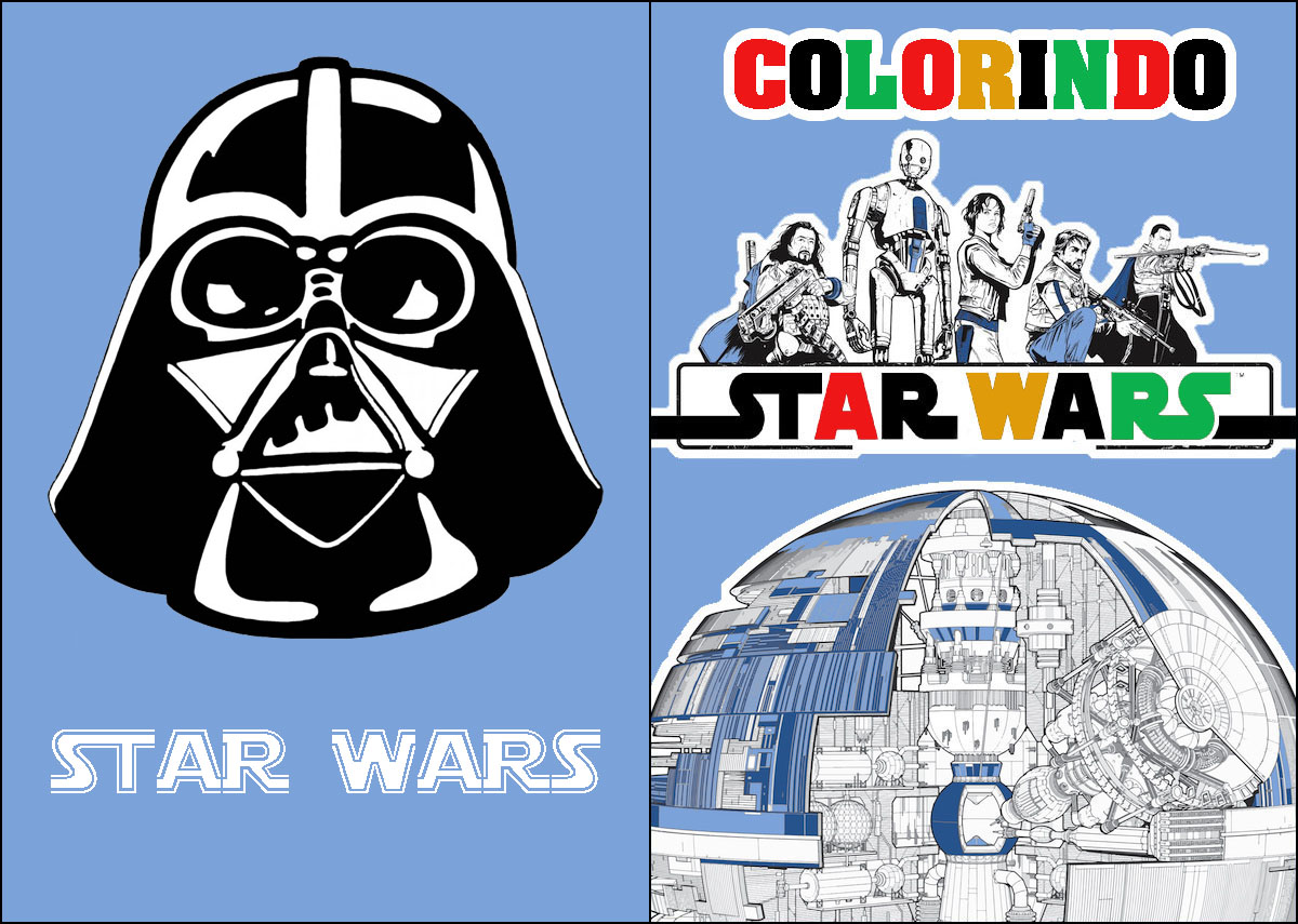 Livrinho de Colorir Star Wars 3