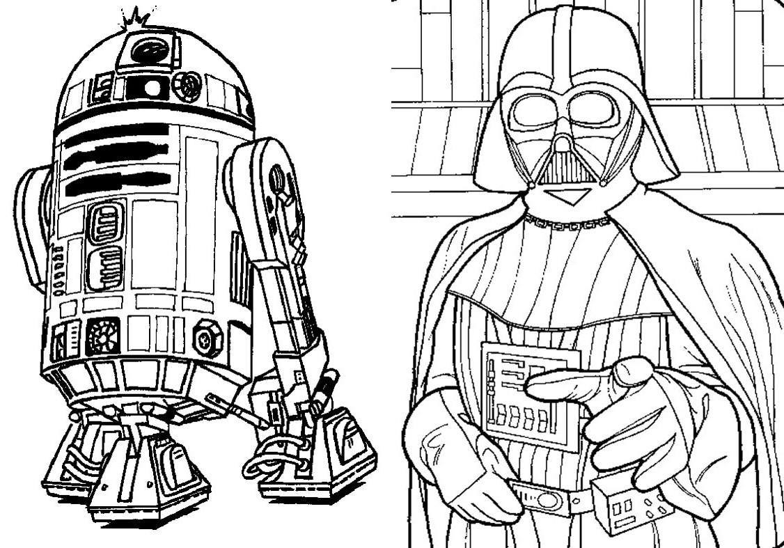 Livrinho De Colorir Star Wars 9 Fazendo A Nossa Festa