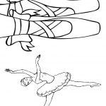 Livrinho de Colorir Bailarina 2
