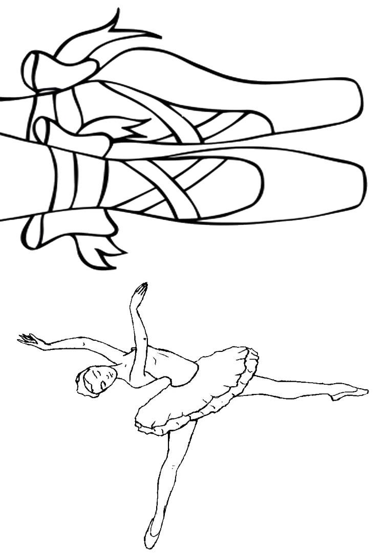 Livrinho De Colorir Bailarina 2 Fazendo A Nossa Festa