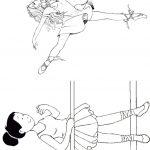 Livrinho de Colorir Bailarina 3