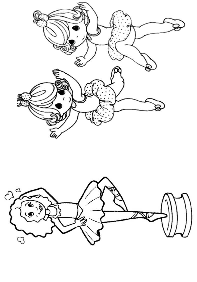 Livrinho para Colorir Bailarina 5
