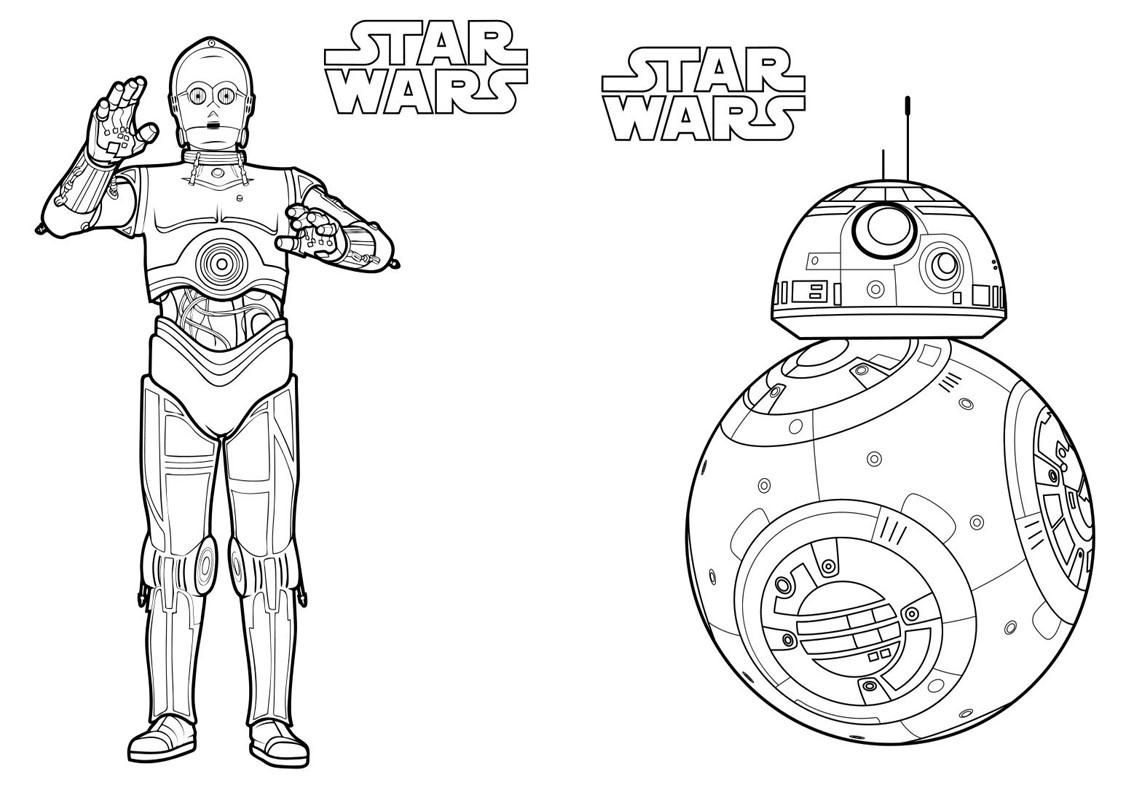 Livrinho para Colorir Star Wars 1