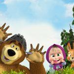 Masha and The Bear Invitations