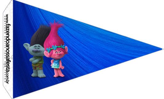 Bandeirinha Sanduiche 4 Trolls