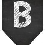 Bandeirola Chalkboard B