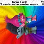 Bisnaga Brigadeiro 30gr Trolls Kit Festa