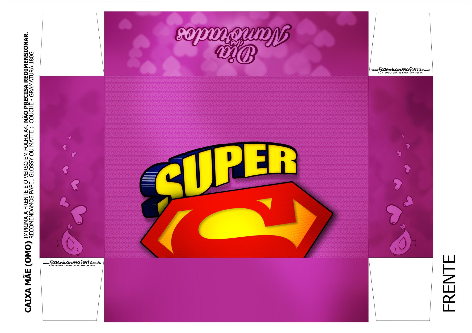 Caixa Super Namorados 3 - parte de cima
