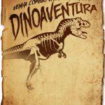 Convite Pergaminho Dinossauro 2