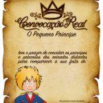 Convite Pergaminho Pequeno Príncipe 3