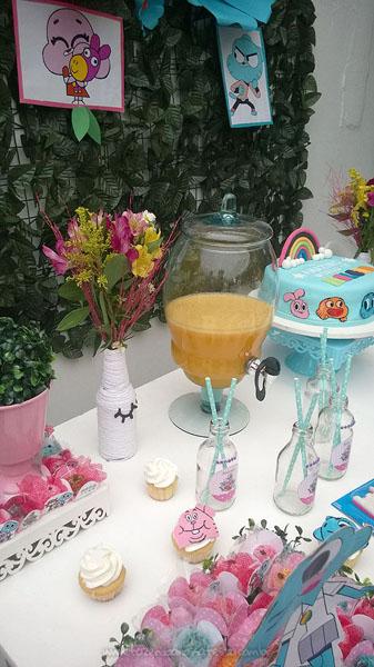 Decoração Festa Infantil O Incrível Mundo de Gumball da Helena 6