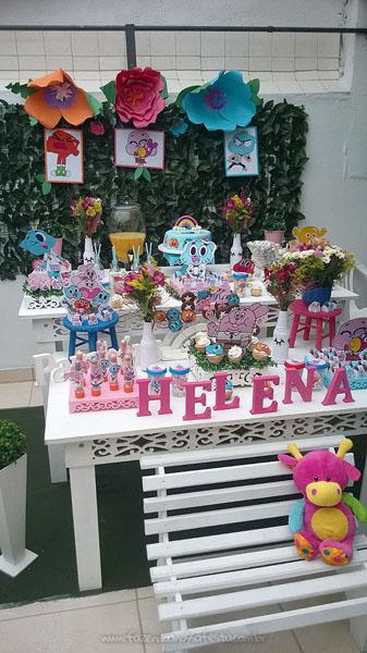Festa Infantil O Incrível Mundo de Gumball da Helena Mesa doces