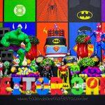 Festa Super-Heróis do Heitor