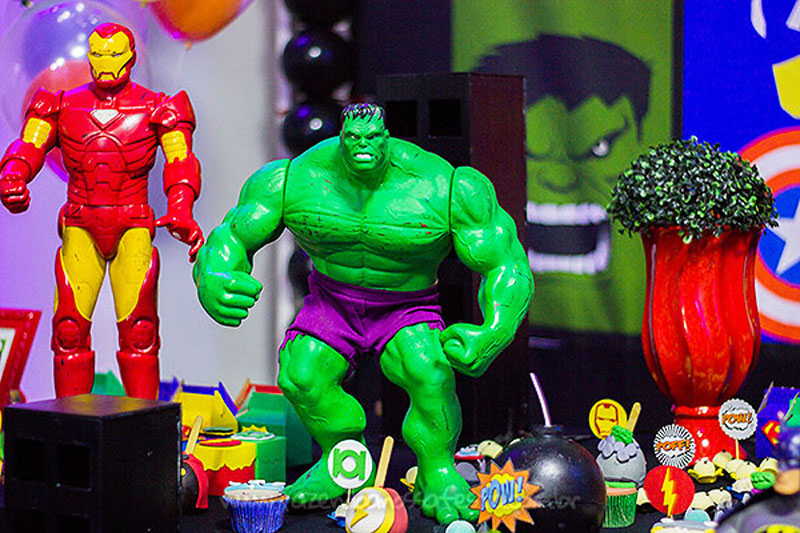 Festa Infantil Super-Heróis do Heitor 3