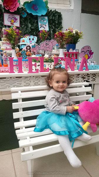 Festa Infantil O Incrível Mundo de Gumball da Helena 1