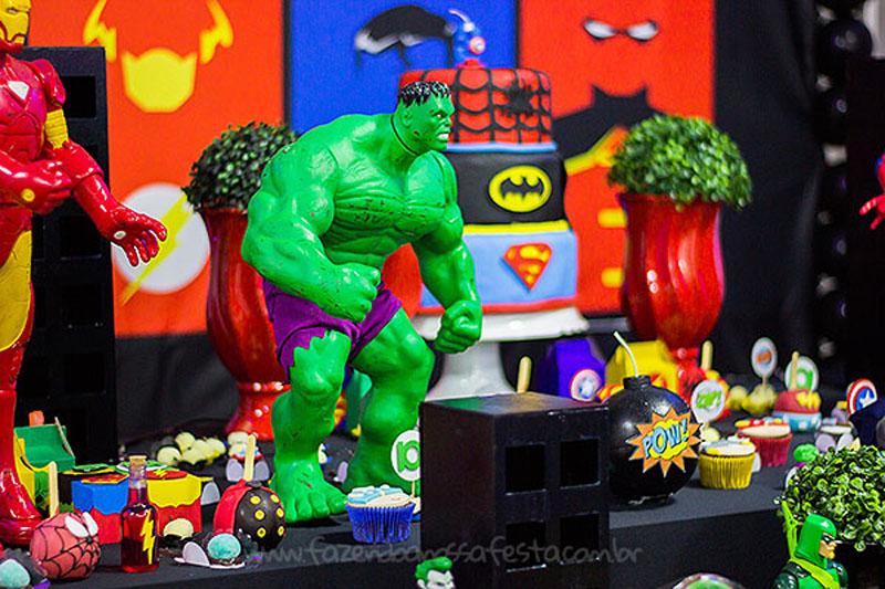 Festa Super-Heróis do Heitor 2