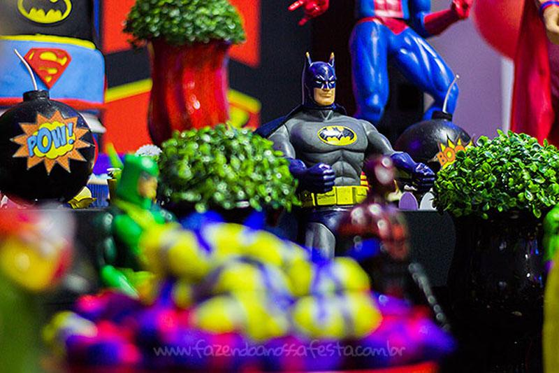 Festa Super-Heróis do Heitor 3