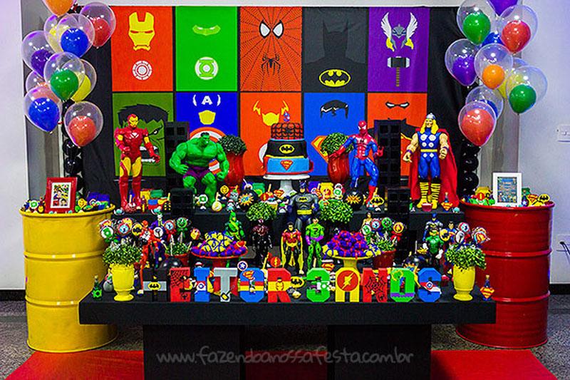 Festa Super-Heróis do Heitor 4
