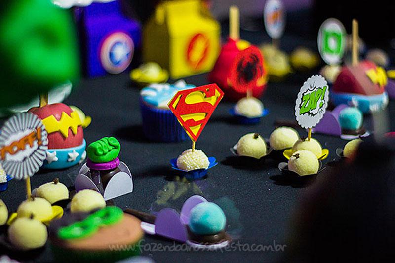 Festa Super-Heróis do Heitor 6