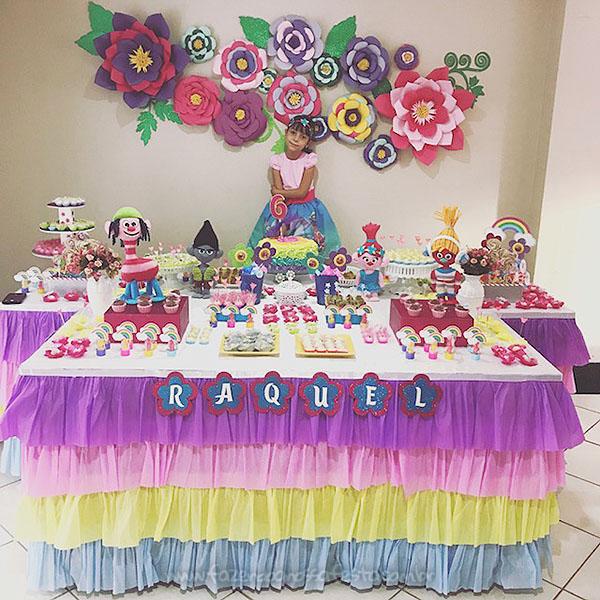 Festa Trolls da Raquel