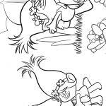 Livrinho para Colorir Trolls 6
