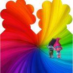 Marcador de Páginas Trolls Kit Festa
