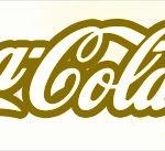 Rótulo Coca cola Unicórnio