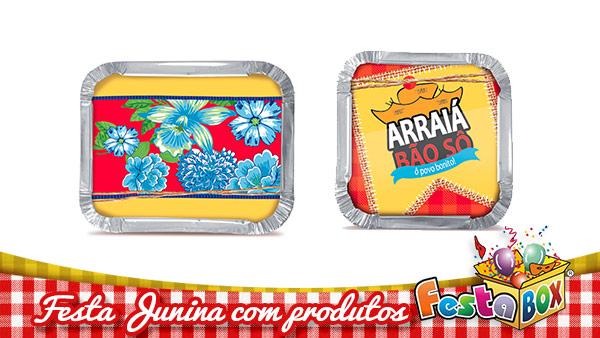 Ideias para Festa Junina personalizada com Produtos FestaBox 10