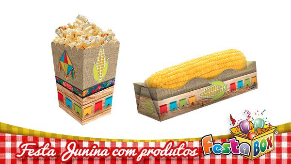 Ideias para Festa Junina personalizada com Produtos FestaBox 2