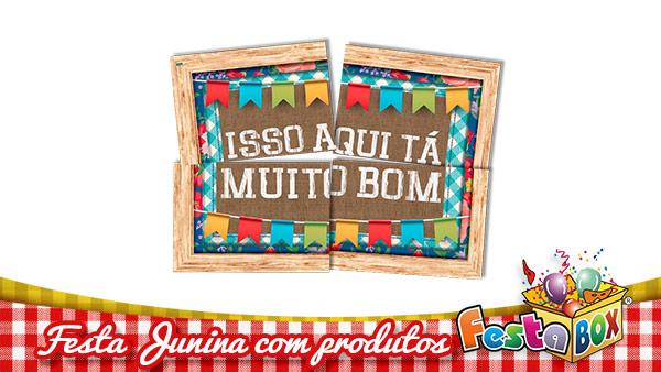 Ideias para Festa Junina personalizada com Produtos FestaBox 3
