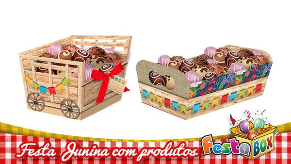 Ideias para Festa Junina personalizada com Produtos FestaBox 7