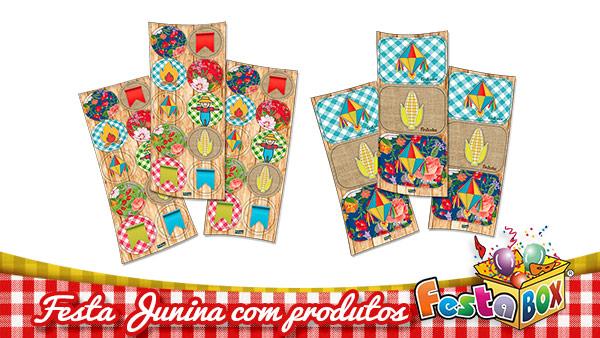 Ideias para Festa Junina personalizada com Produtos FestaBox