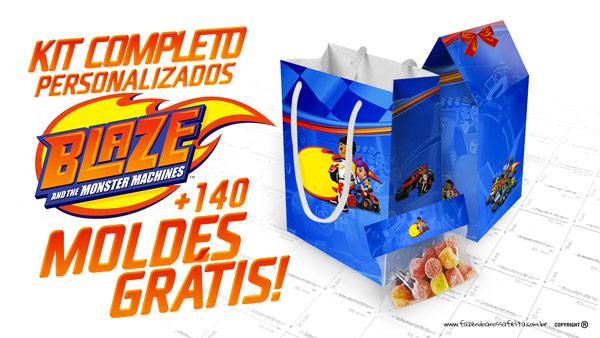 Blaze And The Monster Machines Kit Festa Gratis Para Imprimir