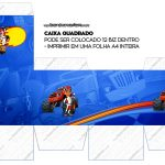 Caixa Cubo ou Bis Blaze and the Monster Machines