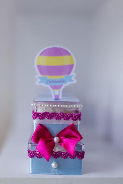 Caixinha Festa Infantil Balões da Fernanda