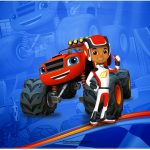 Cartão Blaze and the Monster Machines