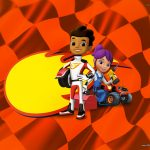 Convite Blaze and the Monster Machines 3
