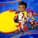 Convite Blaze and the Monster Machines 4